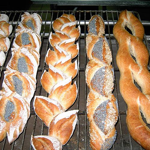 Des pains speciaux